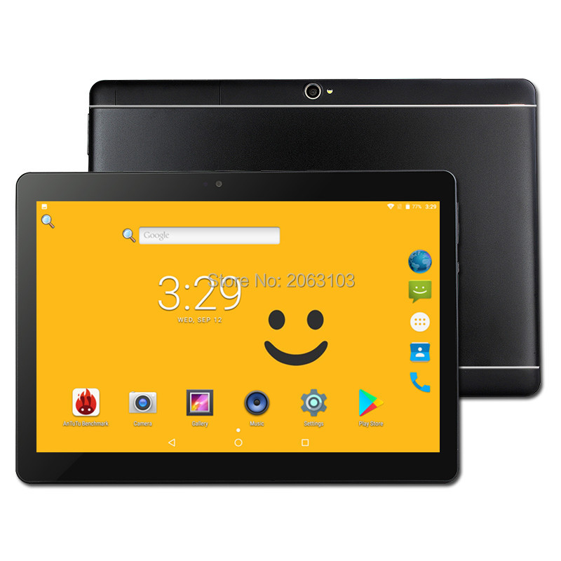Phone Call 10 Inch Tablet pc <font><b>T109</b></font> Android 8.0 Original 3G Android Octa Core 4GB RAM 64GB ROM WiFi FM IPS LCD 4G+64G Tablets Pc image