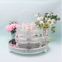 Europe high quality fruit plates Wedding centrepieces christmas plate serving dishes candy dish dessert tray dinner dish