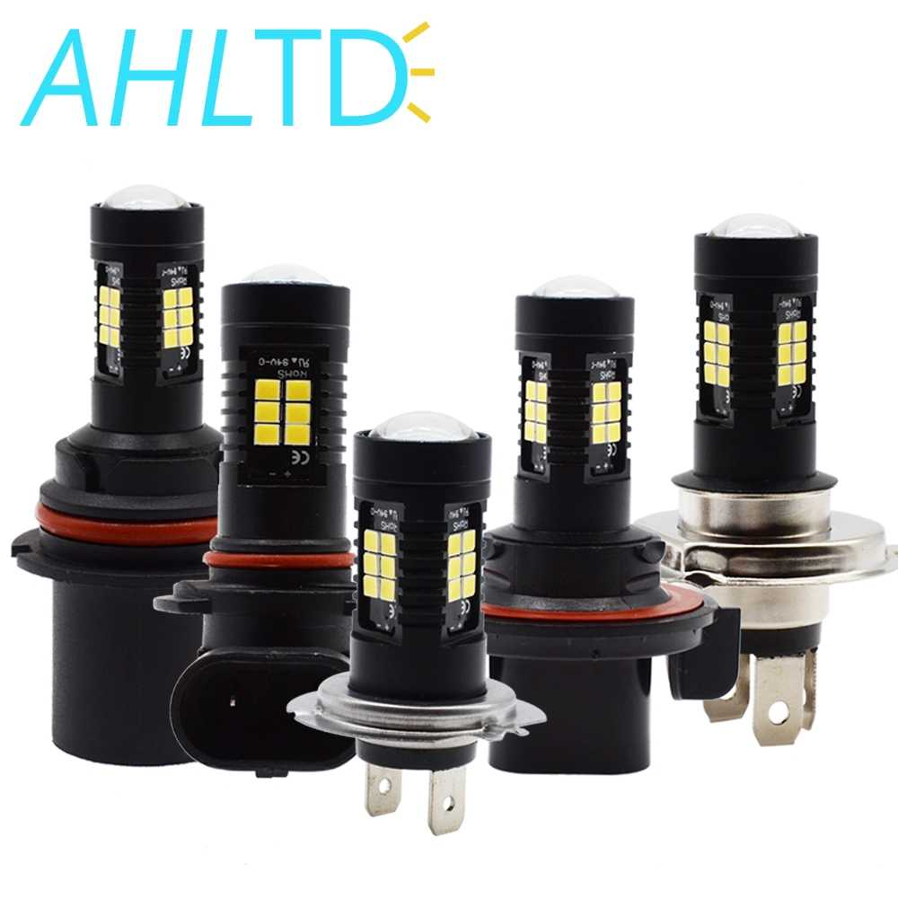 R5W LED H4 H7 H8 P13W 1156 BA15S P21W LED BAU15S PY21W BAY15D LED Bulb 1157 P21/5 3030 21SMD 12V - 24V Auto Lamp Bulbs Car LED