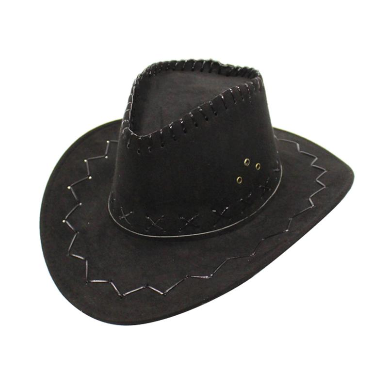 Fashion Cowboy Hats Boy Girl Party Costumes Cowgirl Cowboy Hat Western Men Hat And Women