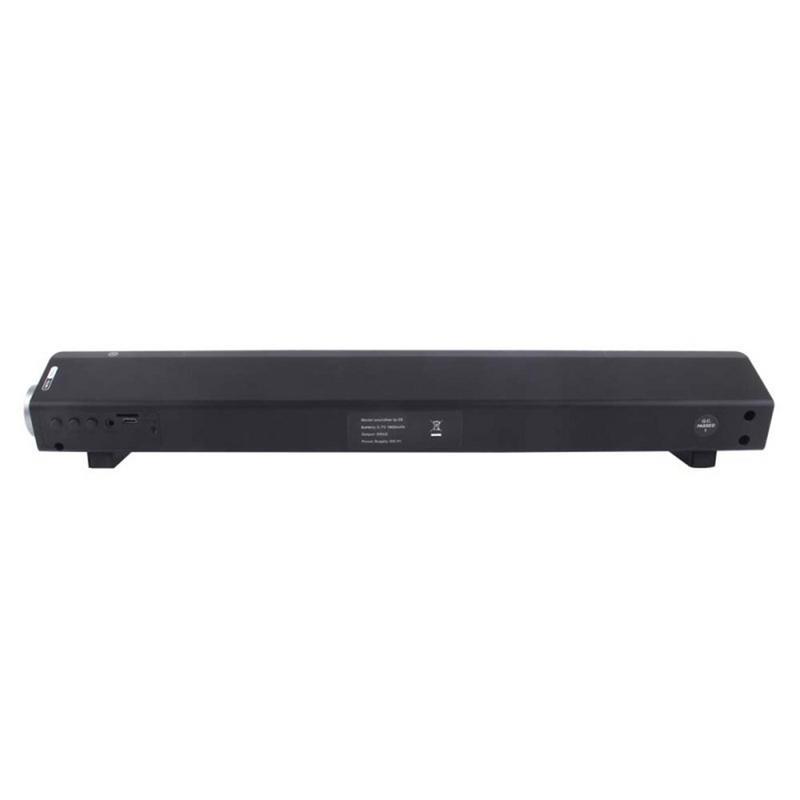 Télécommande TV améliorée barre de son BT haut-parleur lecteur MP3 Bluetooth barre de son sans fil haut-parleur carte de branchement haut-parleur Bluetooth