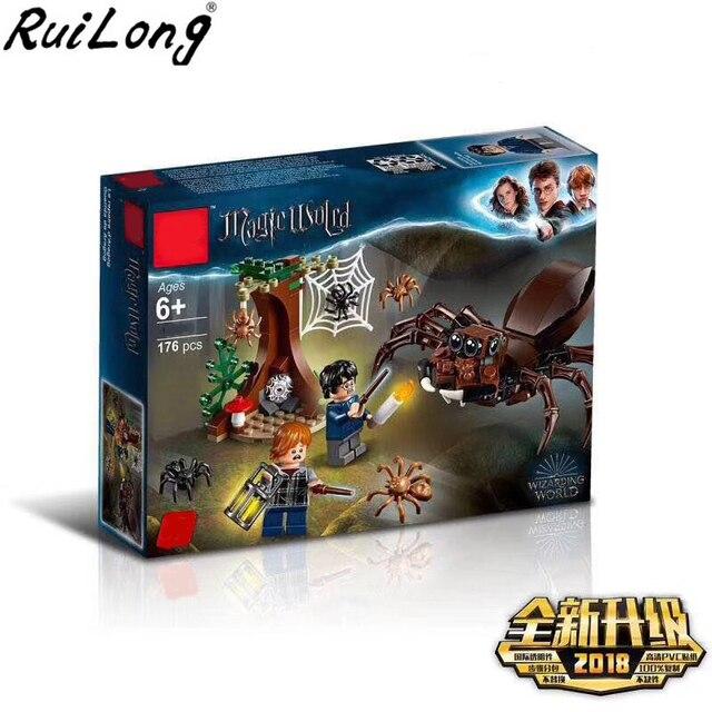 New Harry Potter Movie Aragog's Lair Compatible Legoing Harry Potter 75950 Building Kit Blocks Toys Children Christmas Gift