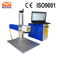 China Fiber Laser Marking Machine Split with Computer Jewerly Decorations for Mental