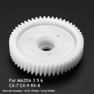 Image 3 - Abs durável auto frente traseira janela de energia regulador ajuste engrenagem do motor para mazda 3 5 6 CX 7 CX 9 RX 8 peças reposição