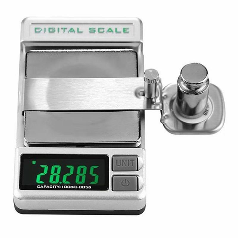 Unterhaltungselektronik Tragbare Digitale Plattenspieler Stylus Kraft Skala Meter Gauge Lcd Hohe Präzise Tracking Che Für Lp Vinyl Rekord Nadel 0,005g /100g