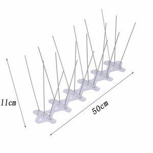 Image 2 - 1 15PCS Controle de Pragas De Aves de Plástico quente e Spikes Pombo Pássaro Anti Anti Pombo Pico para Se Livrar de Pombos e Aves Assustas