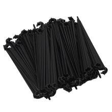 50pc Hook Fixed Stems Support Holder for 4/7 Drip Irrigation