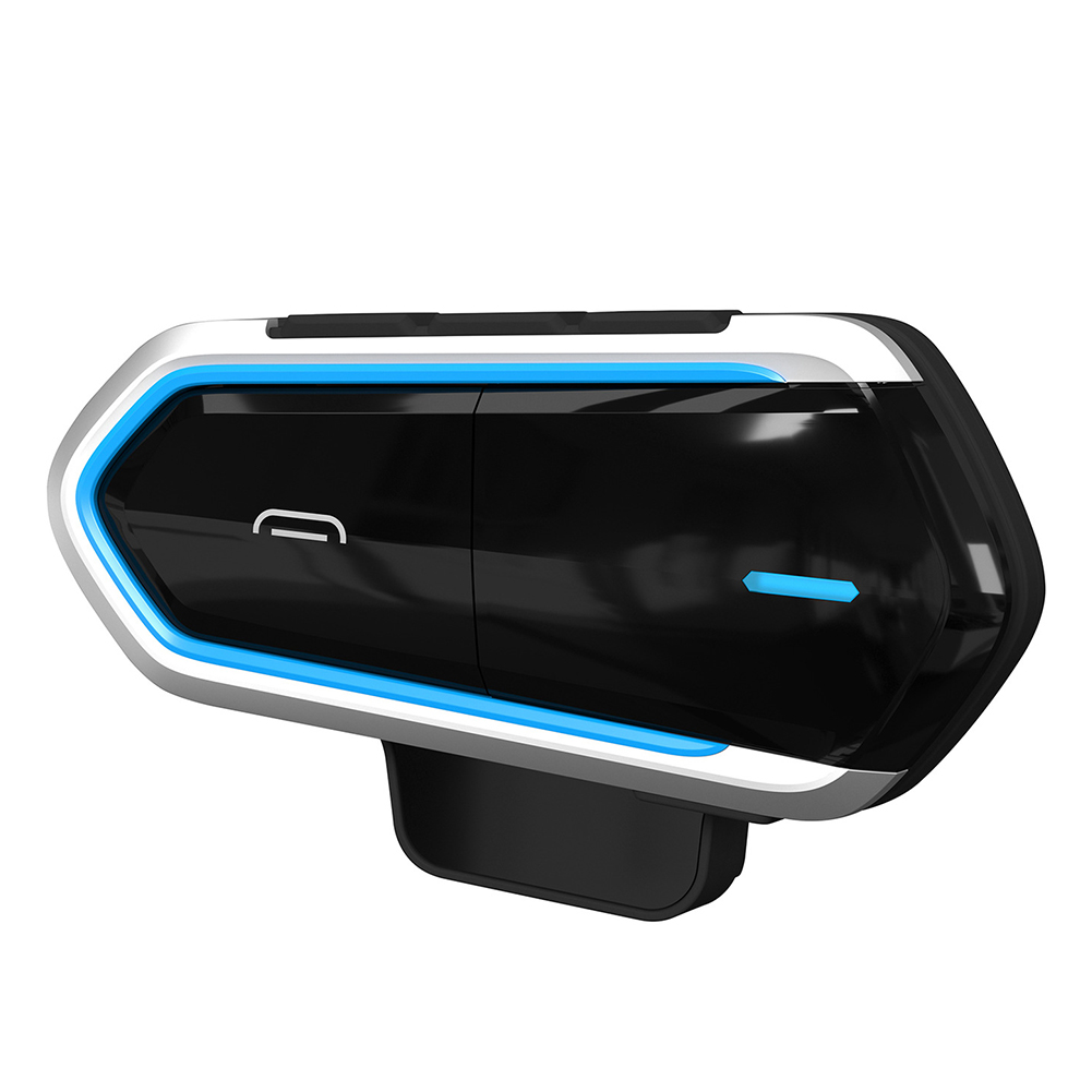 Helmet Headset Earphone Hands-Free Bluetooth Motorcycle Wireless Easy-Operation Music
