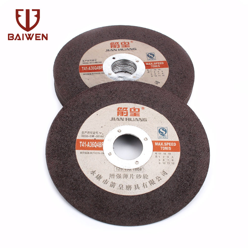 5 Inch 15Pcs Resin Tool Abrasive Cutting Disc Cut Off Wheel For Angle Grinder