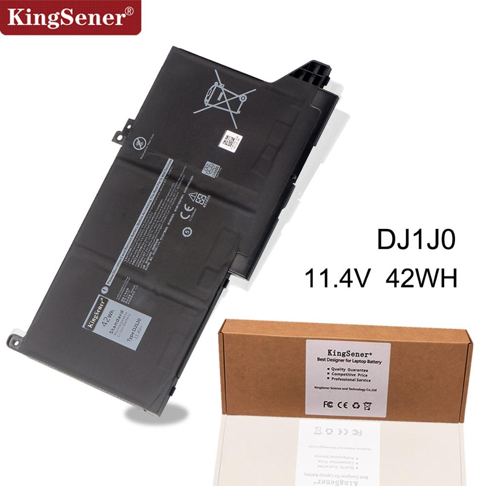 Kingsener New DJ1J0 Laptop Battery For DELL Latitude 12 7000 7280 7380 7480 Series Tablet PC PGFX4 ONFOH DJ1JO 11.4V 42WH