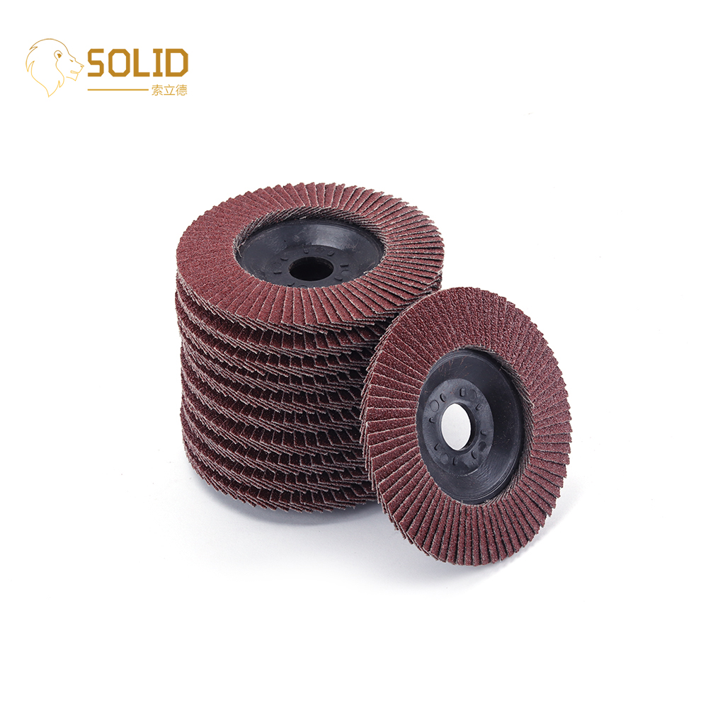 4 Inch 60-320 Grit Flap Discs Grinding Wheels Sand Papers for Angle Grinders