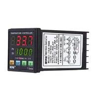 Digital LED PID Temperature Controller + PT100 RTD Thermistor Sensor Probe