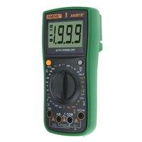 Hohe Genauigkeit Meter Digital Multimeter Ampere Kapazität Widerstand Meter Spannung Tester mit Krokodil Clips (Grün)-in Multimeter aus Werkzeug bei