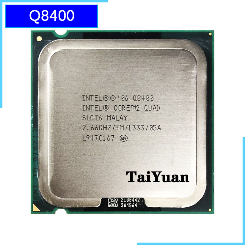 Intel Core 2 Quad Q8400 2.6 GHz Quad-Core CPU Processor 4M 95W 1333 LGA 775(China)