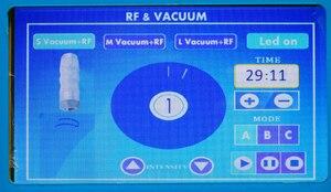 Image 5 - AURO Beauty New LED RF Vacuum Lymph Drainage Suction Body Massager Multi Polar RF Vacuum Massage RF Skin Lifting Machine for Spa
