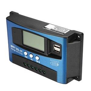 Image 3 - Genaue MPPT 40/50/60/100A Solar Laderegler 12V 24V Auto LCD Display Controller mit Last Dual Timer Control