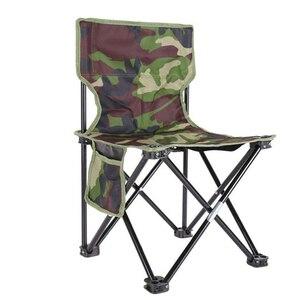 Image 2 - NHBR Mini taşınabilir katlanır tabure katlanır kamp taburesi açık katlanır sandalye barbekü kamp balıkçılık seyahat yürüyüş bahçe