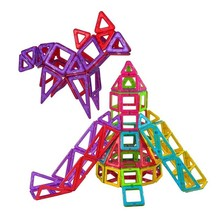 114 Pieces Of Magnetic Building Blocks Educational Kit Magnet Tiles Construction Toys For Children Magbrother