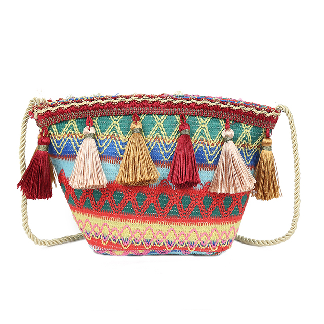 Boho Tassel Messenger Bag