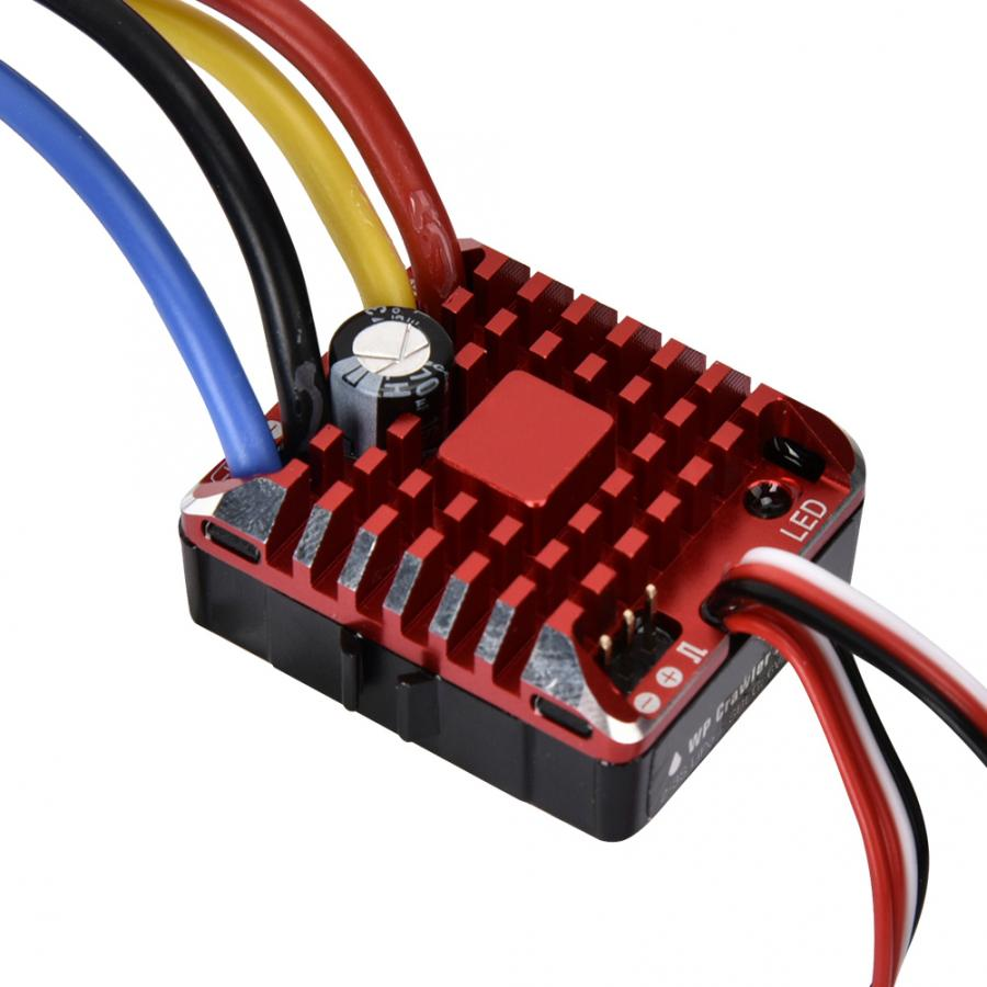 80A Waterproof 1080 Brushed ESC RC Car Brushed ESC Electric Speed Controller XT60 Plug for 1