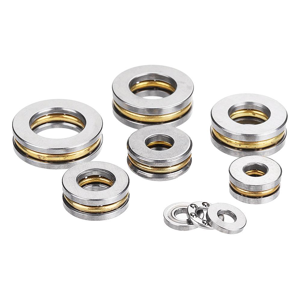 5pcs Flat Thrust Ball Bearing ID. 2.5/3/4/6/7/8mm Mini Miniature Bearings F25-6/ F3-8/ F4-10/ F6-12 /F7-13 /F8-14 New