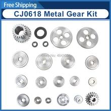 21 個ミニ旋盤ギア/CJ0618 346B 金属切断機ギア/メタルギアキット (メトリック)