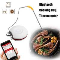 Stainless Steel Digital Bluetooth Cooking BBQ Thermometer Meat Probe Kitchen Cooking Food Water Milk Tools