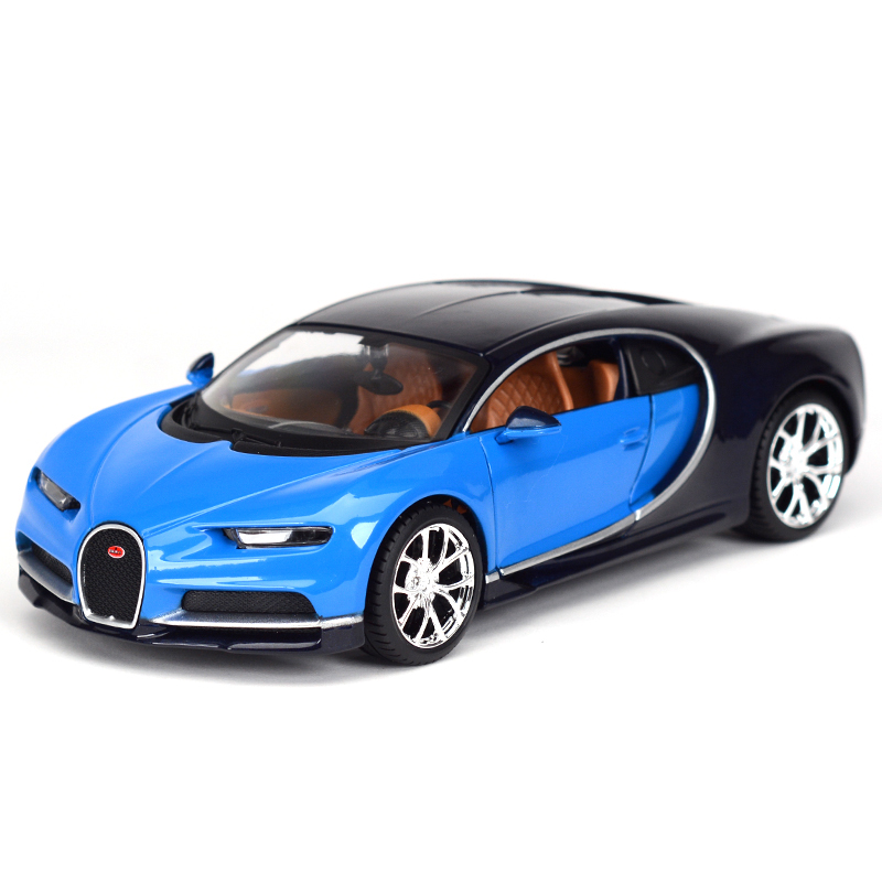 Bburago moulé sous pression modèles Bugatti jouet voiture jouets pour garçons 1/24 échelle modèle Super course enfants cadeaux anniversaire livraison gratuite