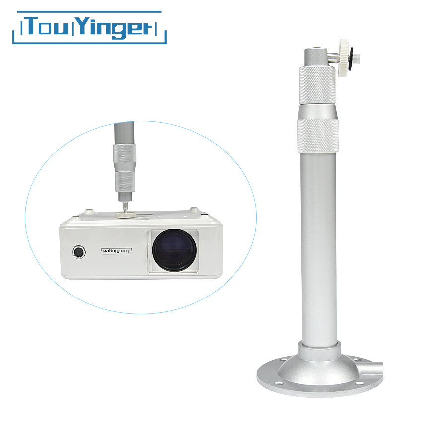 90 Degree Adjustable Projector Accessories High Quality Hanger Ceiling Wall Mount With Height Adjustable 29-42cm /10cm Fixed