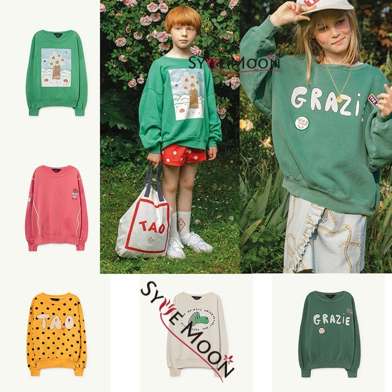 Syue Moon Kids Sweaters 2019 Spring TAO Boys Girls Cotton