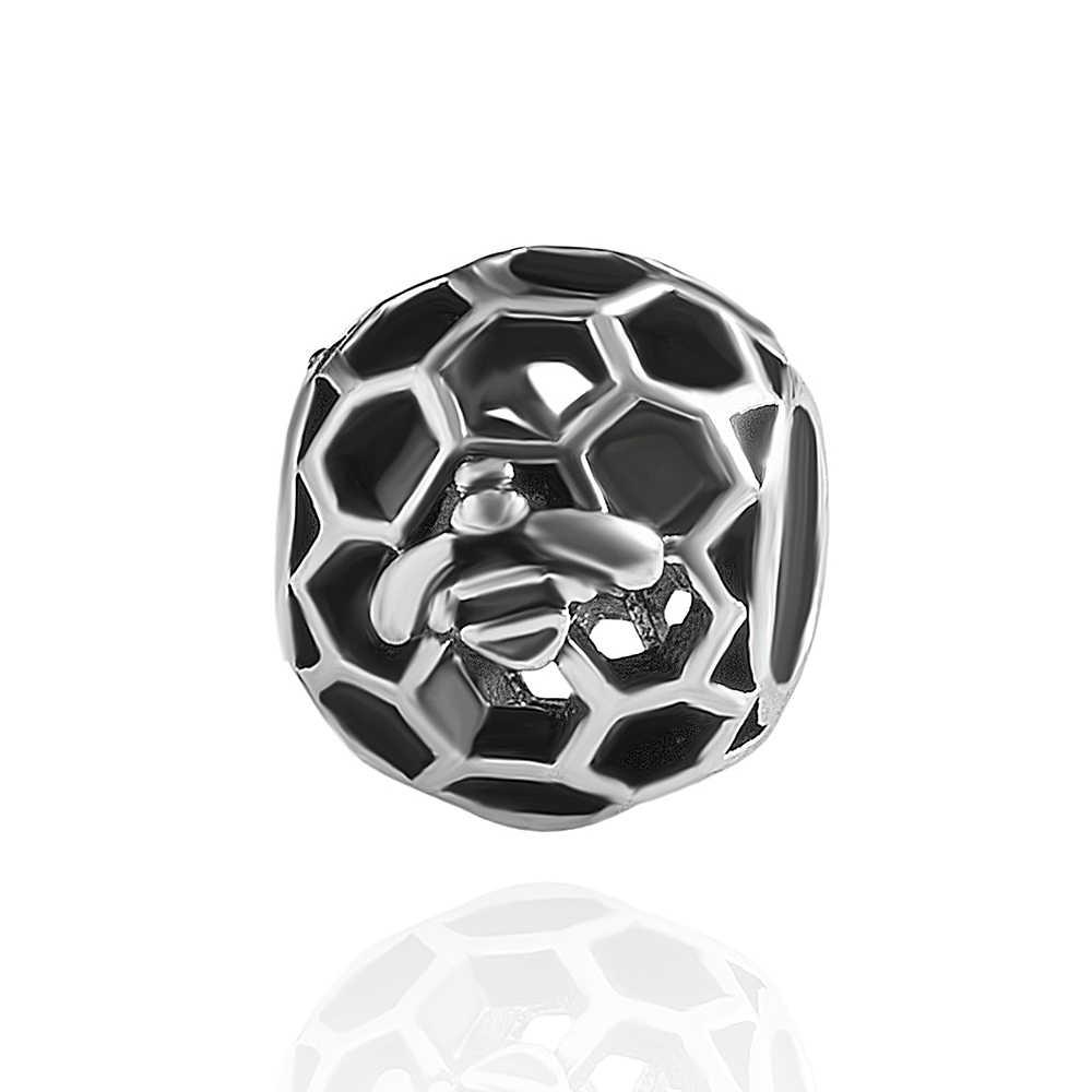 5 uds homeycomb cuentas de la joyería de diy pulsera brazaletes hacer Zinc joyería brazalete de aleación accesorios tapa para cuentas de zirconia cúbica de abeja