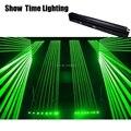 Показать время красная линия Лазерная движущаяся головка зеленая линия лазерная система шоу лазер 8 глаз выстрел профессиональный сцениче...