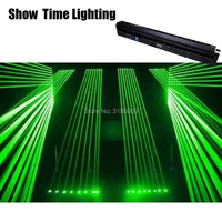 Show Time red line Laser moving head green line laser system show laser 8 eyes shot professional stage light for Disco DJ KTV