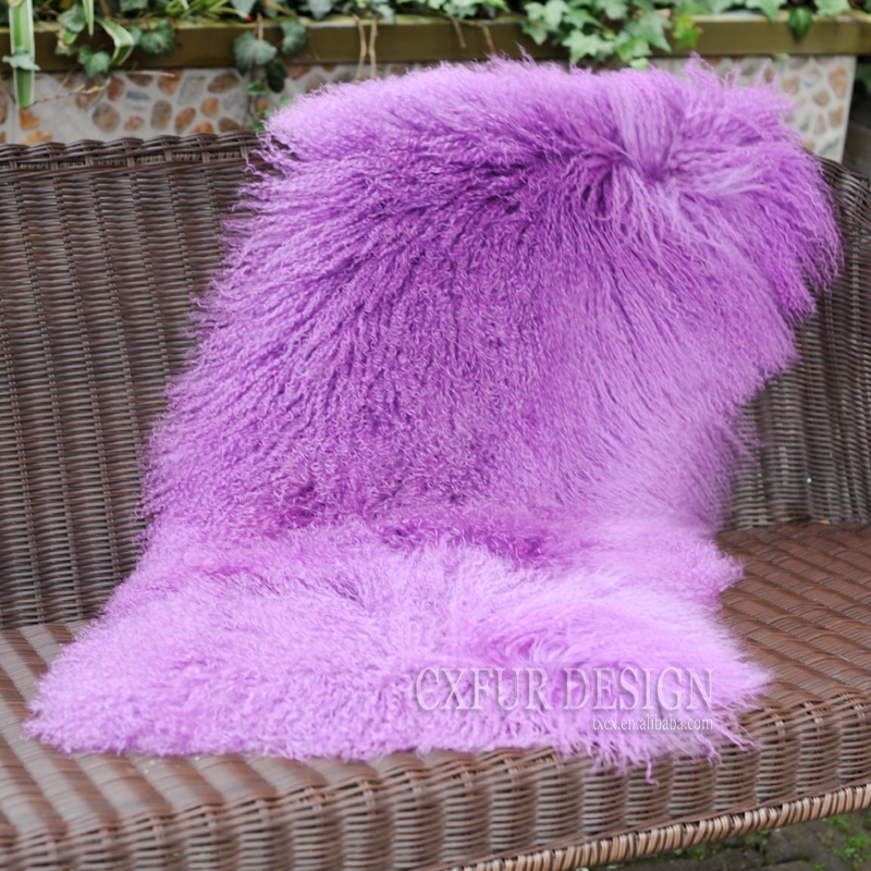 Home Textile 2019 Fashion Cx-d-24m Home Sheepskin Rugs And Carpets For Living Room Genuine Mongolian Lamb Fur Blanket Promote The Production Of Body Fluid And Saliva