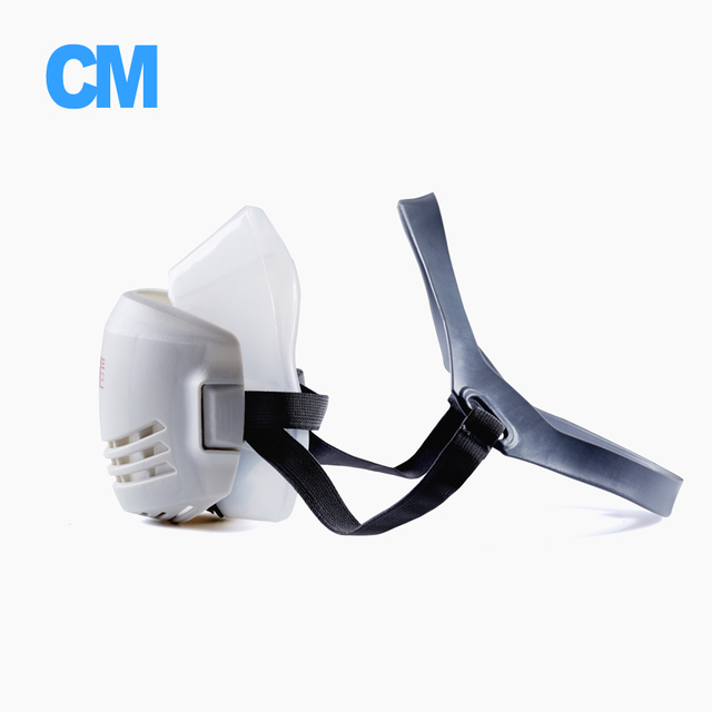 N95 respirator cm mask industry half face paint spray gas mask protective mask work dust proof respirator mask with filter