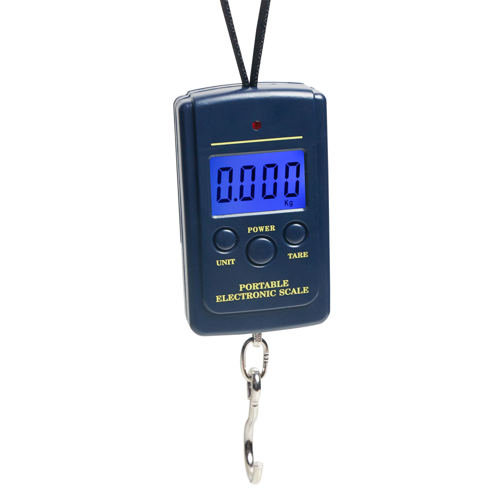 40kg/10g Kitchen Electronic Scale Home Store Shop Supplies Weighing Tools Abs Lcd Display With Hook Small Portable Digital Scale Always Buy Good Home & Garden