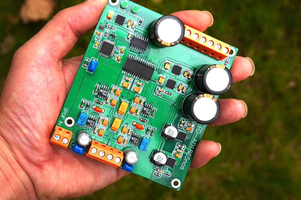 DYKB AD1865 Decoder board r2r decoding nos mode ak4118 support DAC 24bit 192K PCM1704DYKB AD1865 Decoder board r2r decoding nos mode ak4118 support DAC 24bit 192K PCM1704