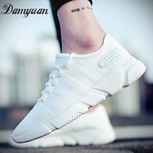 Damyuan Classic Men Shoes Flyweather Casual Shoes Comfortable Shoes Breathabl Men Vulcanize Shoes