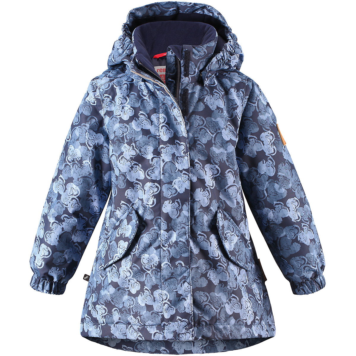 REIMA Jackets 8688911 For girls Polyester  winter fur baby clothing girl Jacket winter jacket men casual male coat warm men zipper outwear duck down jacket middle long mens parka with fur hood thick jackets