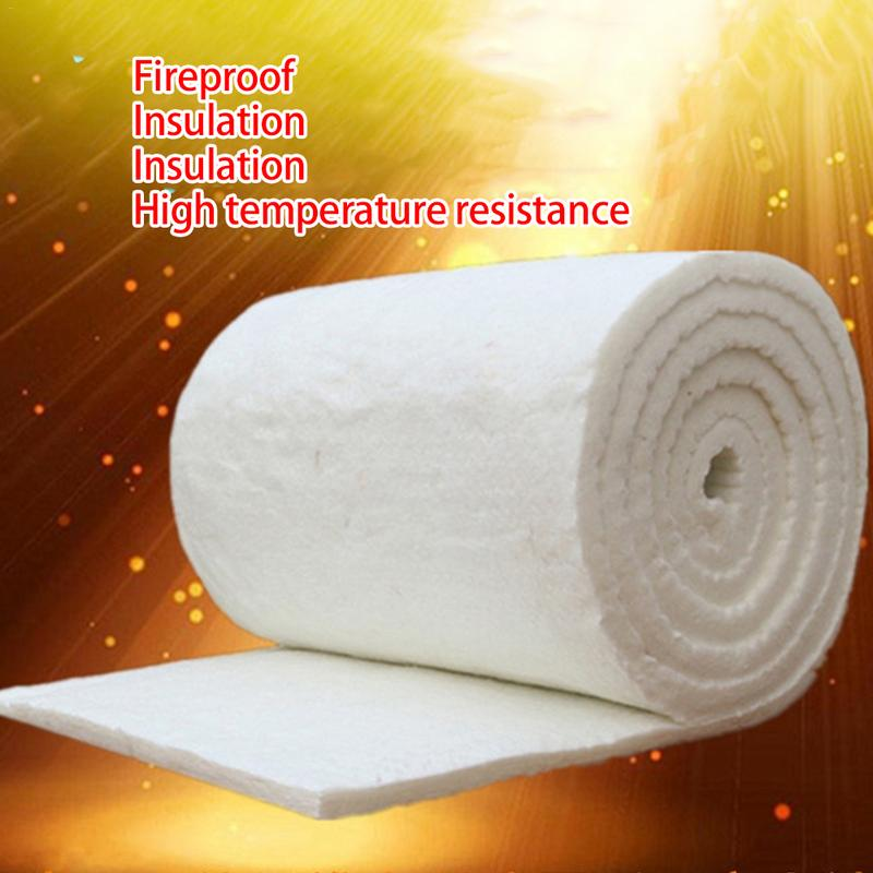 Fireproof Cotton Blanket High Temperature Boiler Insulation Aluminum Silicate Needle Ceramic Fiber Insulation Cotton Refractory
