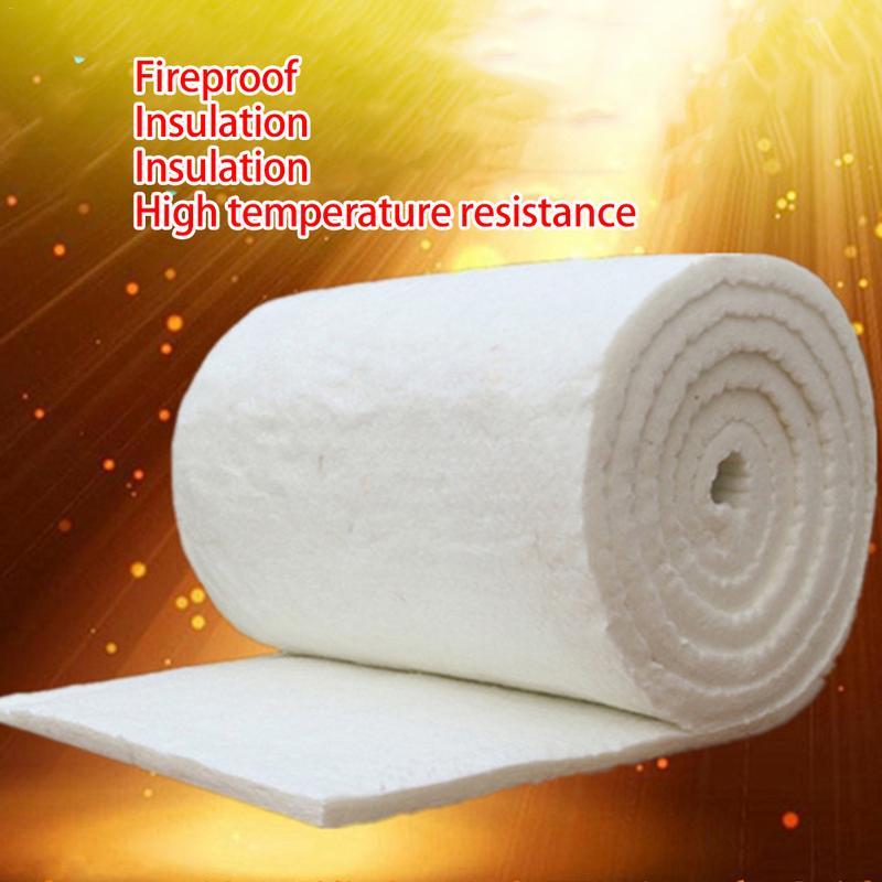 Fireproof Cotton Blanket High Temperature Boiler Insulation Aluminum Silicate Needle Ceramic Fiber Insulation Cotton Refractory