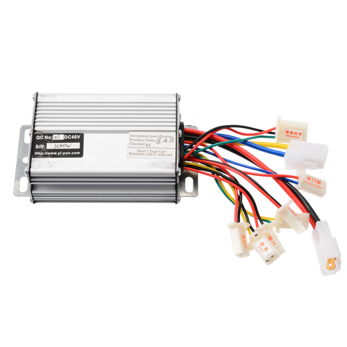 High Quality 48V 1000W Electric Scooter Motor Brush Speed Controller For Vehicle Bicycle Bike Accessories
