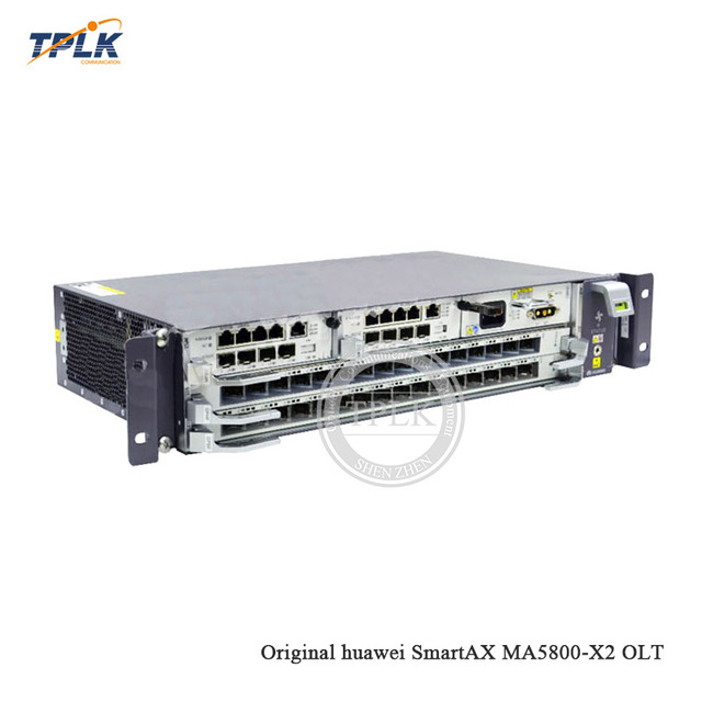 HW SmartAX MA5800-X2 PON G/EPON OLT, with 1* MPSC(2*10G)+1*PISB DC, M A C / IP address smooth expansion, with GPBH or GPHF