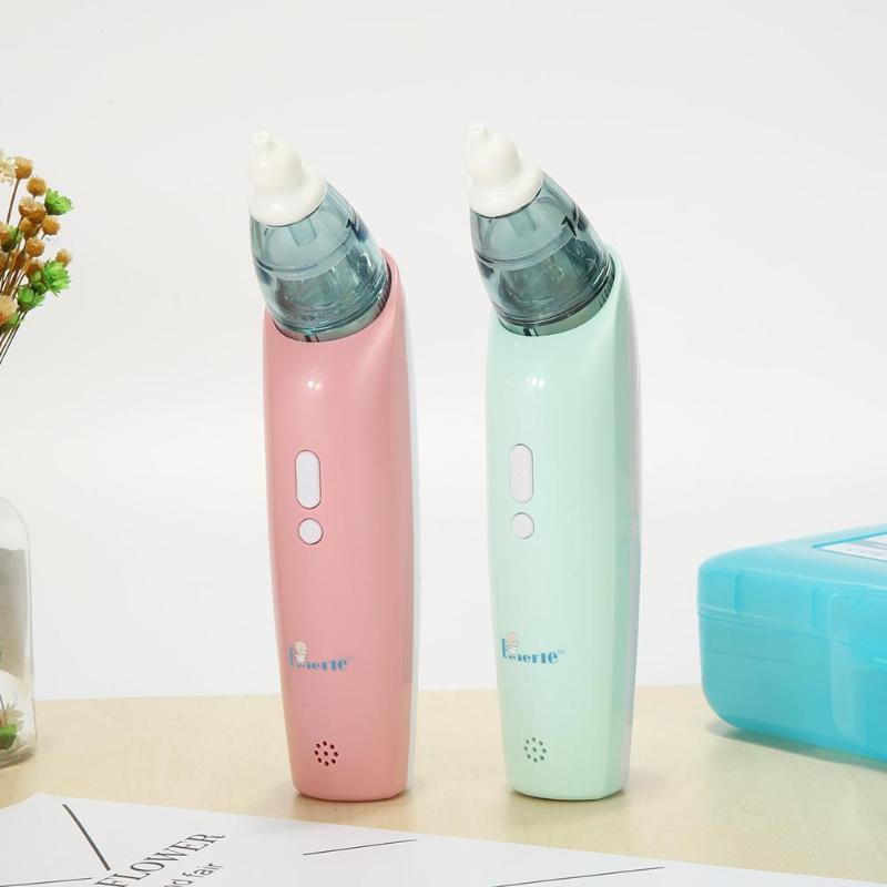Уход за ребенком носовой аспиратор Электрический Очиститель носа оборудование для нюхания съемное безопасное гигиеническое устройство