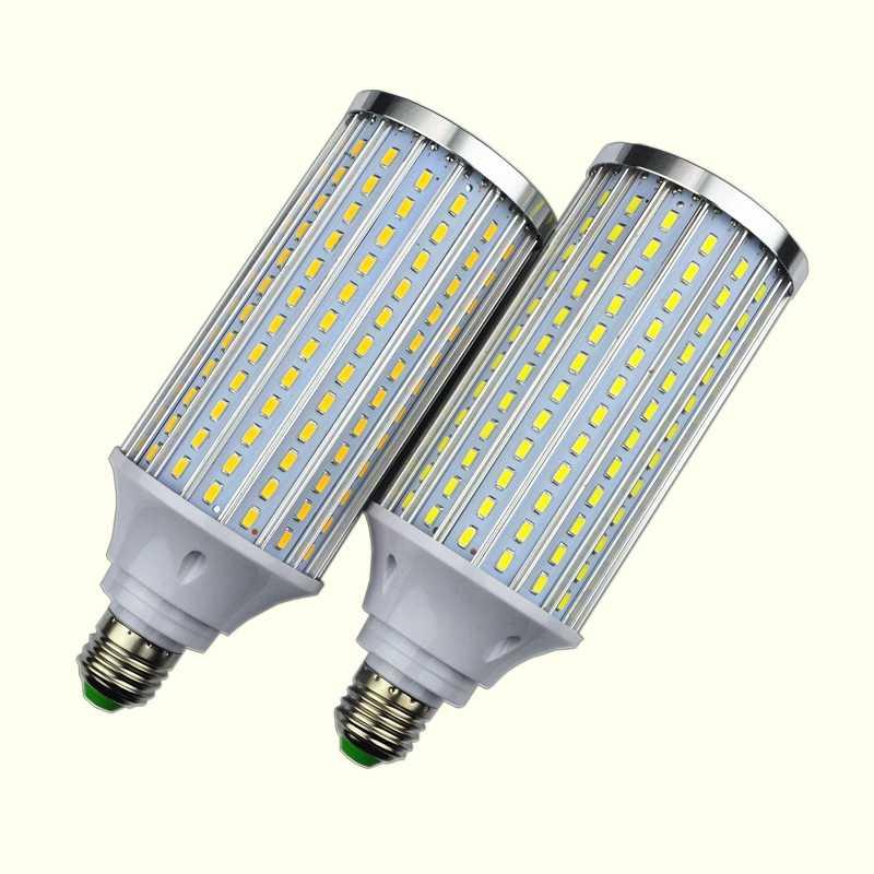 5730 Алюминиевая СВЕТОДИОДНАЯ Лампа в виде ракушки лампа 18W25W30W40W50W 60 Вт 80 Вт 85-265V E14 E26 E27 E39 E40 светодиодный кукурузный светильник уличный фонарь холодный теплый белый