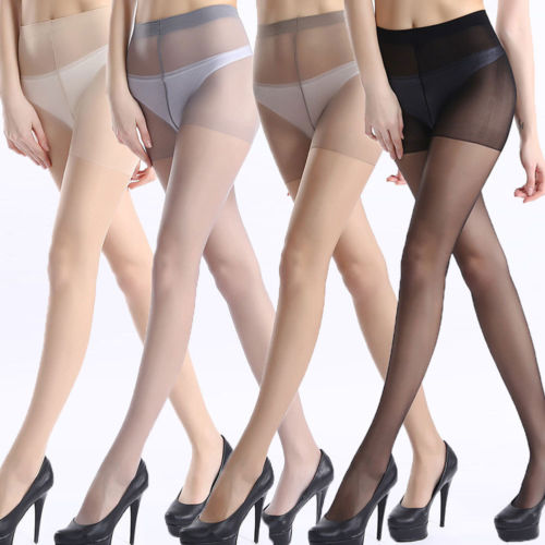 239339daaae Women s Silk Sheer Pantyhose Ultra Thin Breathable High Waisted Tight  Stockings Conjoined Stockings