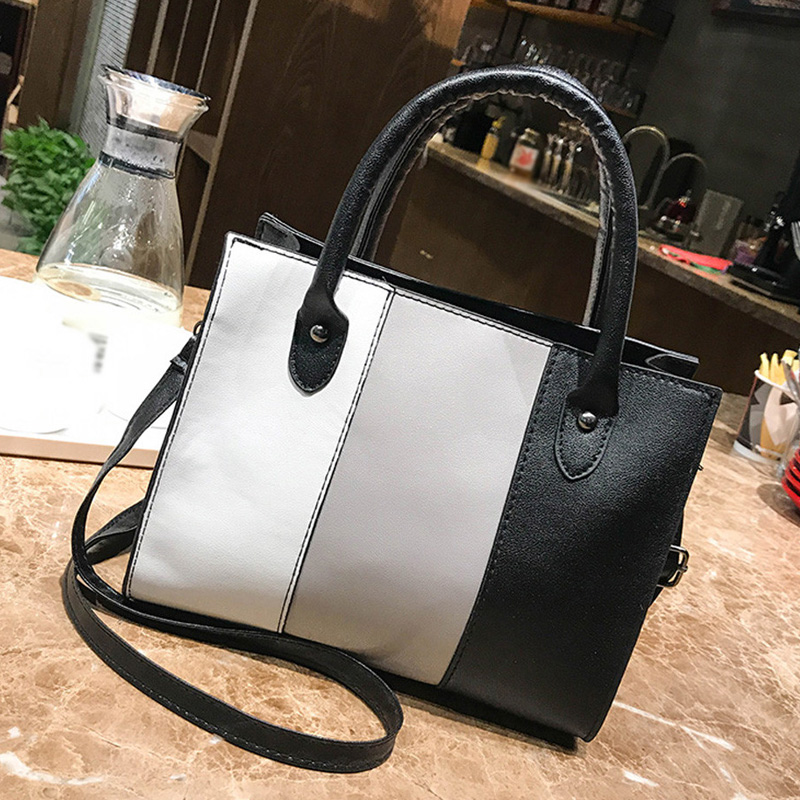 WomenS Handbag Casual Bag Messenger Bag Hit Color Leather Handbag Shoulder BagWomenS Handbag Casual Bag Messenger Bag Hit Color Leather Handbag Shoulder Bag