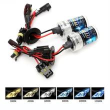 car hid xenon headlight bulbs 35W 55W H1 H3 H8 H11 H7 9005 9006 881 H13 12V lamps 3000K 6000K white yellow fog lights