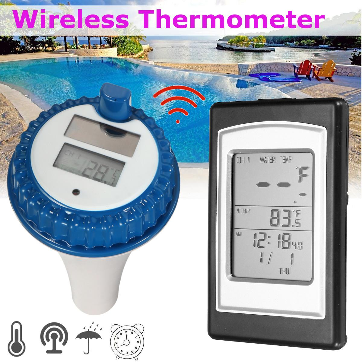 Professional Wireless Digital Swimming Pool Thermometer Wireless Thermometer In Swimming Pool Spa Hot Tub Waterproof ThermometerProfessional Wireless Digital Swimming Pool Thermometer Wireless Thermometer In Swimming Pool Spa Hot Tub Waterproof Thermometer