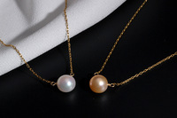 Free shipping steamed bread pearl pendant fashionable joker woman hand clavicle chain